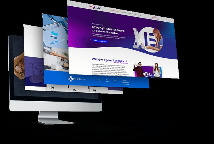 strona internetowa dla biznesu weblix